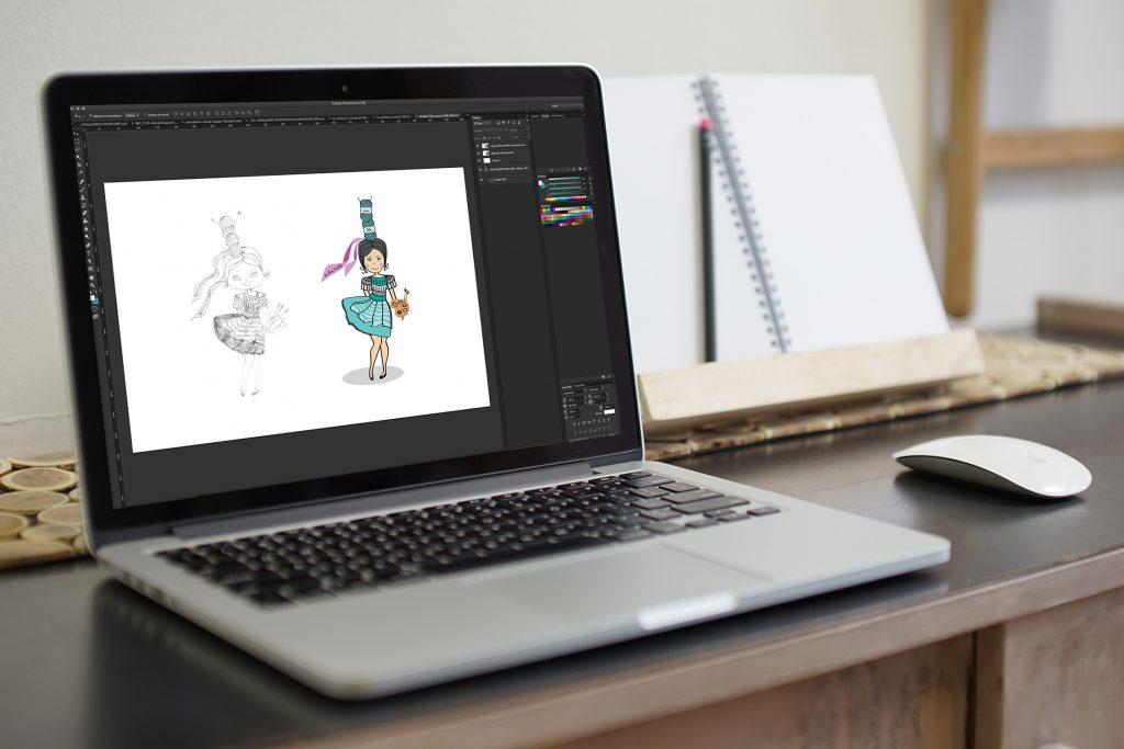 Illustration – Le chas Créatif