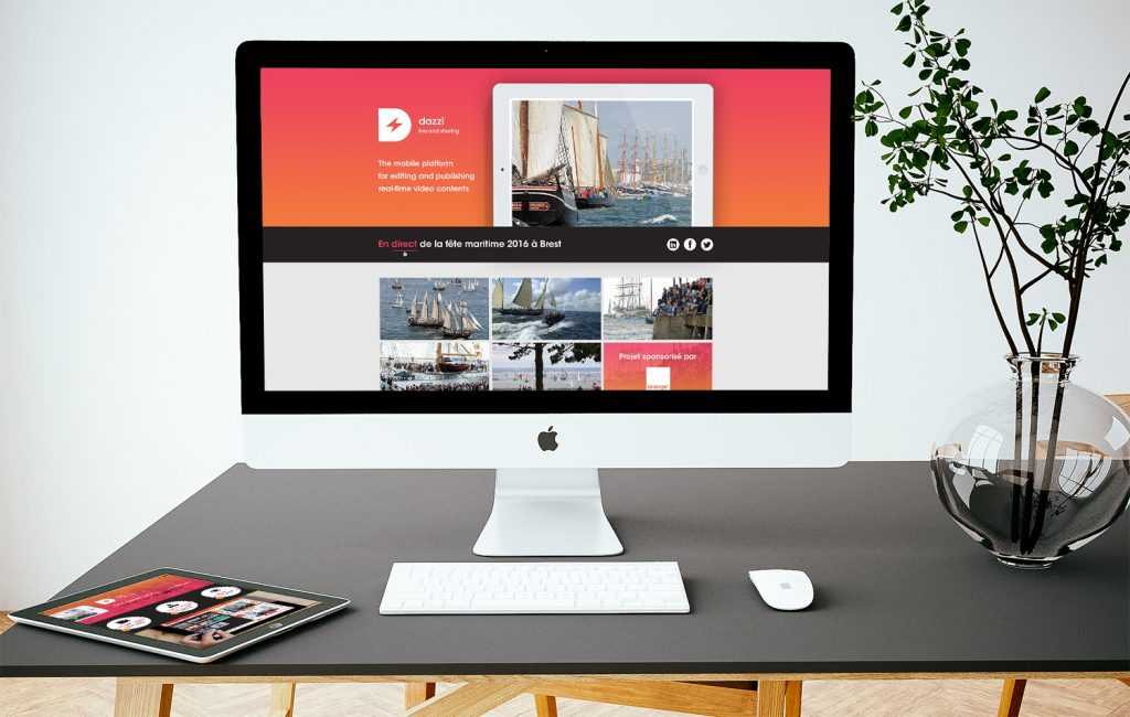 Webdesign site – Dazzl