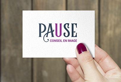 Identité visuelle – Pause