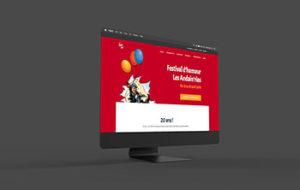 Site internet – Festival Les Andainries