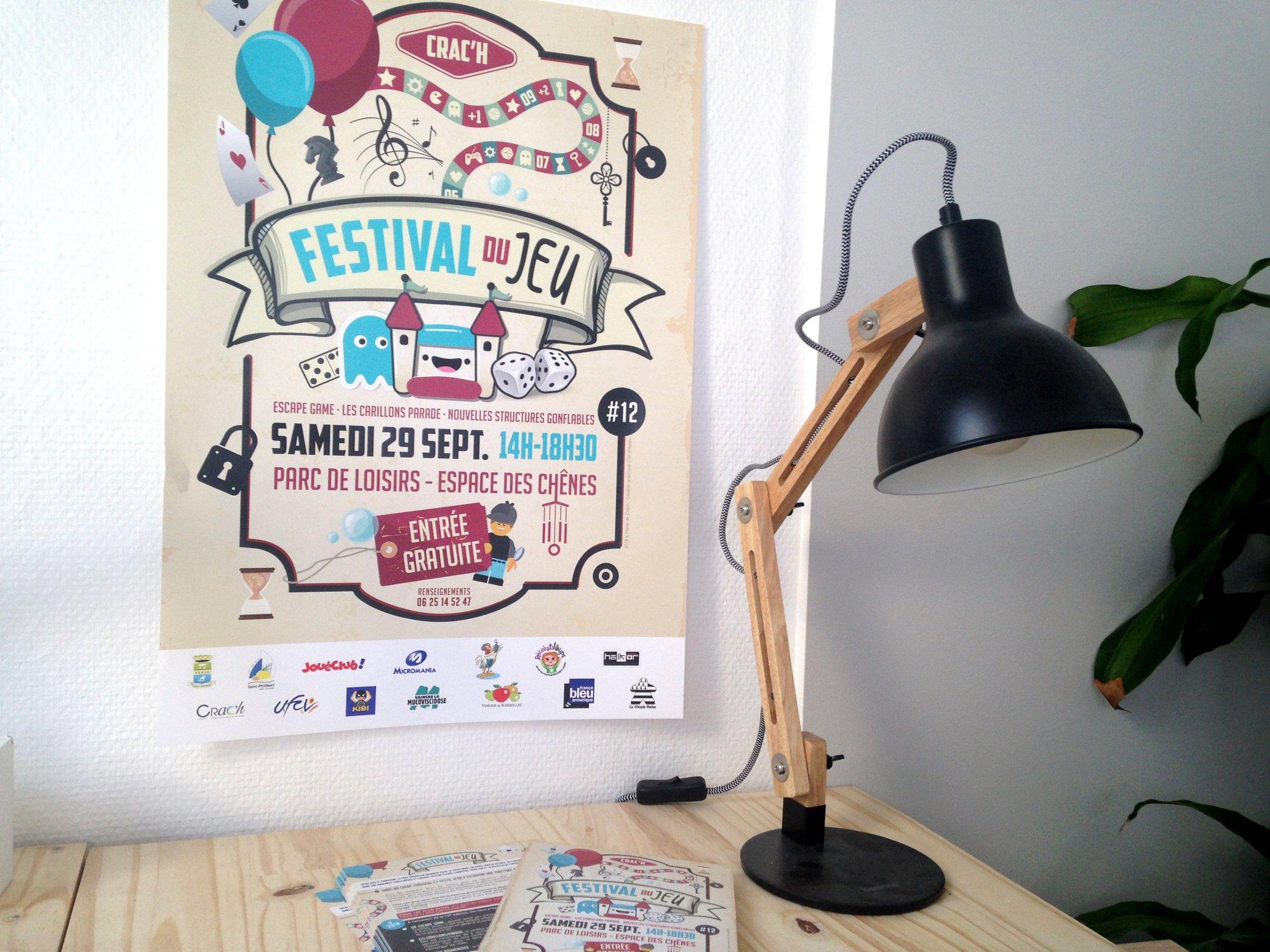 Affiche – Festival du Jeu