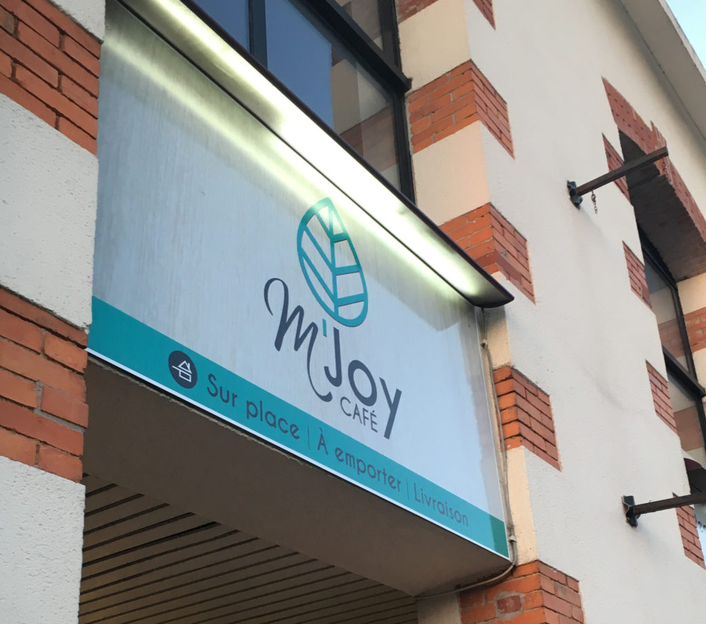 Enseigne – M'JOY Café