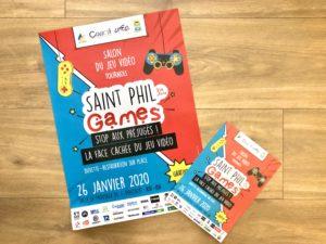 Salon du jeu vidéo Saint Phil Games 2020