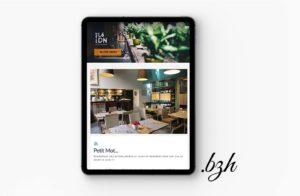 Site internet Restaurant Là DN